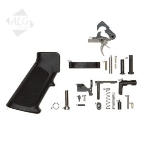 ALG Complete AR15/M4 Mil-Spec Lower Parts Kit with ACT Trigger (With Grip)
